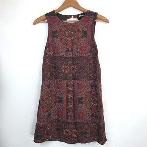 Urban Outfitters Ecote Mandala Mini Dress